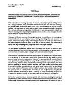 extended essay how do social class and gender affect the pursuit  tok essay