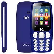 <b>Сотовый телефон</b> BQ One L+ <b>BQ</b>-<b>2442</b> синий
