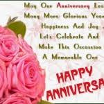 Happy Anniversary Wishes and Image for Parents | DailysmsPK.Net via Relatably.com