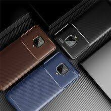 For Xiaomi Redmi K30 Pro Case <b>Carbon Fiber</b> - www.meatchell.ru