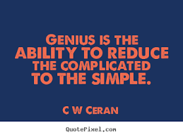 Genius Quotes. QuotesGram via Relatably.com