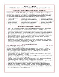 facility manager resume com facility manager resume and get ideas to create your resume the best way 16