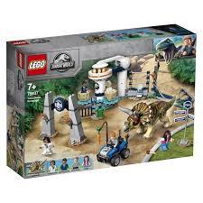 <b>Lego Jurassic World</b> 75937 <b>Нападение</b> трицератопса – цена в ...
