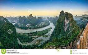 Xingping, Guangxi, China   ... landscape on the Li <b>River</b> in Xingping ...