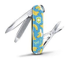 "<b>Нож</b>-брелок ""<b>Victorinox</b>. <b>Classic</b>. Banana Split"", 58 мм, 7 функций ..."