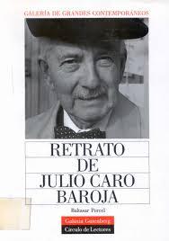 Retrato de Julio Caro Baroja - julio_caro_baroja_retratog