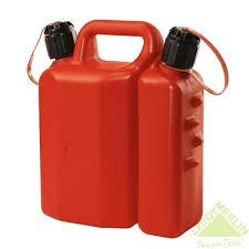 <b>Канистра</b> топливо-масло для двухтактной техники, 3,5 л + 1,5 л в ...