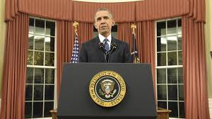 from oval office president obama vows us will defeat isis barack obama oval office