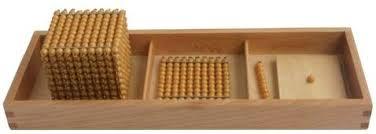 Montessori Introduction to Decimal Quantity with Tray ... - Amazon.com