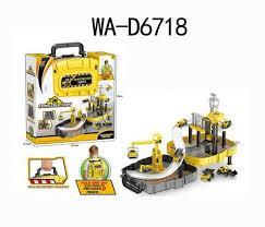 <b>Игровой набор Junfa</b> Toys Трек Стройка - P866-A | детские ...