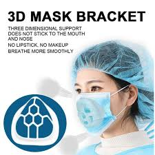 【Ready】<b>5Pcs 3D Mask Bracket</b> Unisex Reusable for child adult ...