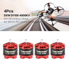 4pcs dxw rc drone