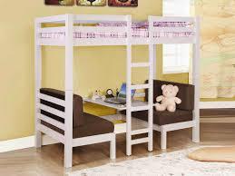 high bunk bed with desk awesome modern kids desks 2 unique kids