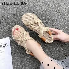 new <b>Women shoes</b> Casual Summer Flat Beach <b>Slippers Female</b> ...