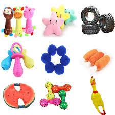 Hoomall <b>1PC</b> Cute Cartoon <b>Animal Dog Toy Pets</b> Squean Toy Soft ...