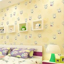 papel parede eco friendly lovely cartoon rabbit design wallpaper roll children bedroom decor wall paper china eco friendly modern office