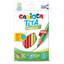 """Купить <b>Карандаши цветные</b> утолщенные <b>CARIOCA</b> """"<b>Tita</b> ..."""