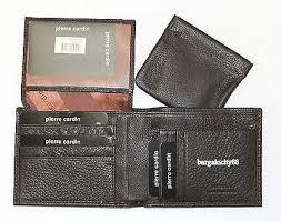 New Pierre Cardin <b>RFID</b> Blocking <b>Genuine Leather Mens</b> Walllet w ...