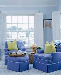 light blue living room blue room white furniture