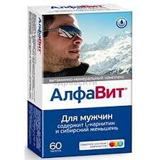 Витаминно-минеральный комплекс <b>Алфавит для мужчин</b> ...