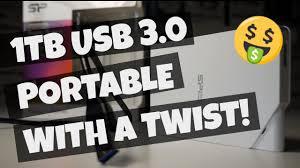 Bargain 1TB USB 3.0 portable HDD with a TWIST! The <b>Silicon</b> ...