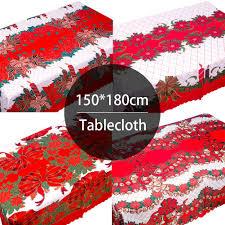 <b>Christmas Printed</b> Tablecloth <b>Waterproof</b> Environmental Protection ...