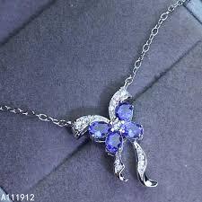 <b>KJJEAXCMY fine jewelry</b> natural Tanzanite 925 sterling silver ...