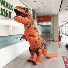 Details about Inflatable <b>Dinosaur T-REX Adult</b> Costume Jurassic ...