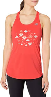 New Balance Women's <b>Printed Accelerate Tank</b>, Exercise & Fitness ...