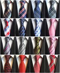 <b>8CM</b> Fashion <b>Classic</b> Men's Stripe Tie Purple White Blue Black Pink ...