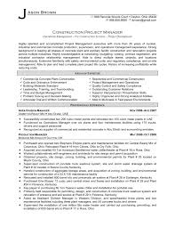 construction manager resume sample newsound co construction manager resume sample