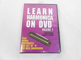 Larry Little's Learn <b>Harmonica</b> (Key of C <b>10</b> Hole) DVD | Reverb