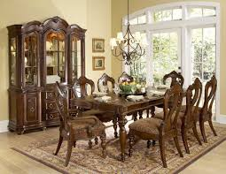 country dining table and chairs