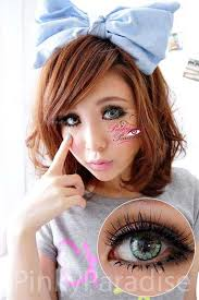 Princess Pinky Twilight Green Circle Lenses (Colored Contacts) - twilight%2520green