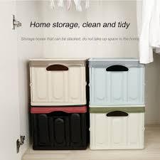 Home Plastic <b>Storage Box 30l</b>/55L Folding Car Large Capacity ...