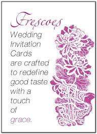 Hindu Wedding Invitation Wording In Hindi Sample - Wedding ...