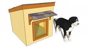 Large Dog House Plans   MyOutdoorPlans   Free Woodworking Plans    Large dog house plans
