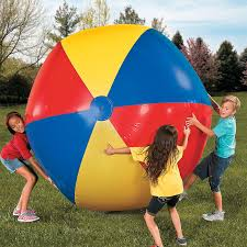 100cm/130cm/150cm Giant <b>Inflatable</b> Beach Ball Colorful Volleyball ...