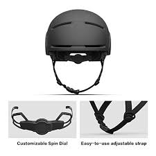 <b>Segway Ninebot Bike Helmet</b>, Black, CE/CPSC Certified, L/XL - Buy ...