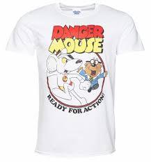 Shop <b>Danger Mouse T-Shirts</b>, Gifts and Merch : TruffleShuffle.co.uk