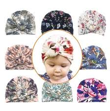 <b>Newborn Baby Infant</b> Girl Toddler <b>Bowknot</b> Hospital <b>Cap</b> Cotton ...