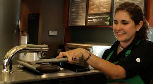 advertising s next frontier the internet of everything barista emily lilo shift supervisor at starbucks uses the clover coffeemaker in 2008