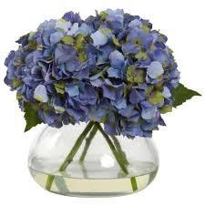<b>Hydrangea</b> - <b>Artificial Plants</b> - <b>Artificial</b> Greenery - The Home Depot