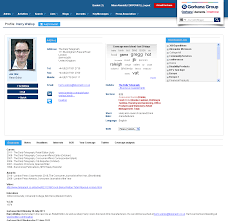 media database alerts gorkana gorkana media database journalist profile