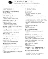 contact resume beth prandini yoga prandini 2014