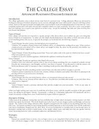 standard format for college essays  standard format for college essays