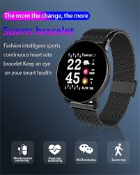 40# <b>W8 Color Screen Smart</b> Watch Fitness Smartwatch Heart Rate ...