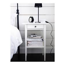 Night Tables For Bedroom Hemnes Nightstand Black Brown Ikea