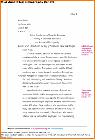 Annotated Bibliography Samples   MLA  th edition Book example
