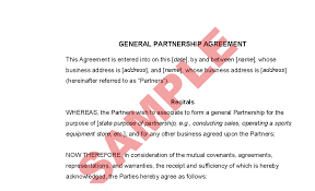 partnership deed, partnership agreement